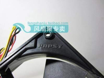 PAPST Multifan 4314S 24V 5W 12CM120 * 120 * 32 3 провод двойной шаровой вентилятор охлаждения