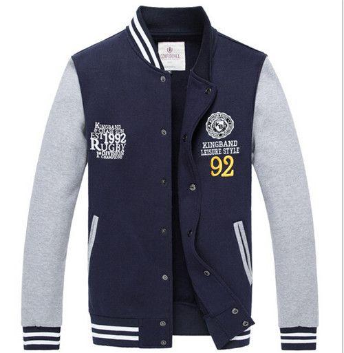 Hot Sale Mens Mens Varsity Letterman Jackets Cotton Casual