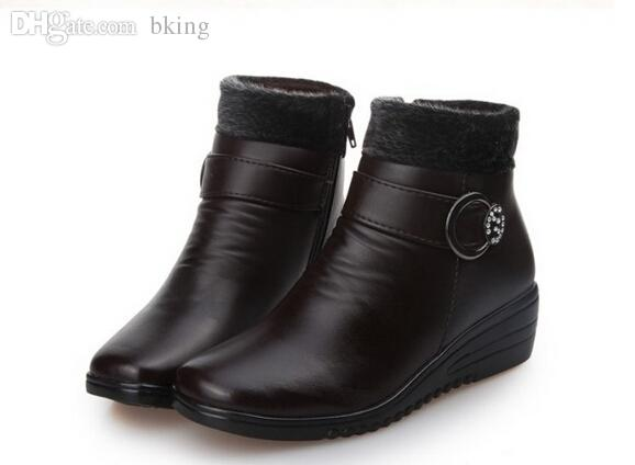 Wholesale-Hot Sell Plus Velvet Warm Winter Boots Women Boots Boots ... 0dd3b9613d1