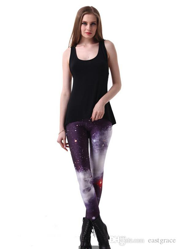 Leggins women Digital printing pants for ladies wholesale and retail multicolor sexy leggings Fashion women tights leggings tight pants