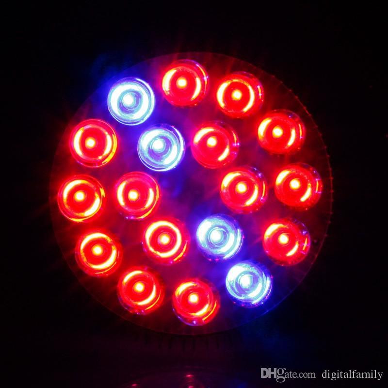 1X Full Spectrum LED Grow Lights 21W 27W 36W 45W 54W E27 LED Grow Lamp PAR 38 30 Лампа для цветочных растений Система гидропоники Grow Box Spotlight