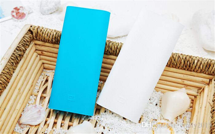 power bank silicone cases covers for 16000 mah xiaomi External Battery Pack charging lithium Valentine's day gifts