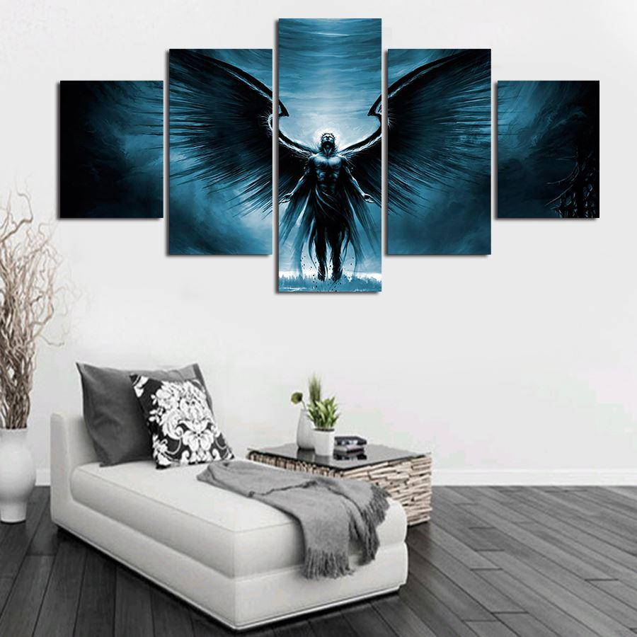 Unframed 5 Pcs High Quality Cheap Art Pictures Large HD Modern Home Wall Decor Abstract Canvas Print Oil Painting Free Delivery
