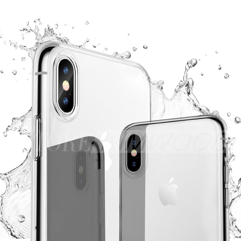 Funda de TPU ultrafina para nuevo iPhone XR XS MAX X 7/8/6 más Samsung S10 / S9 / S8 Plus Funda suave de silicona transparente de Huawei P20 P30 Pro completa