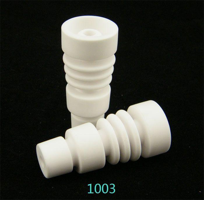 14mm18mm unha cerâmica unha com macho feminino carabina tampa conjunta GR2 titânio unha domeless titânio prego titanium dabble vs Titanium unha