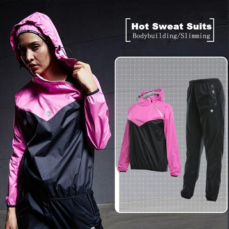 2019 Wholesale Vansydical Sports Suits Women S Fitness Sportswear Hooded Running  Jacket Pants Set GYM Yoga Training Jogging Hot Sweat Suits XXL From Vanesse  ... 0a03aa6d2bd