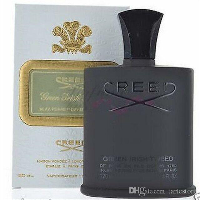 Perfume de venta caliente Hombres Colonia Black Creed Irish Tweed Green Creed 120ml con alta gualidad Envío gratis