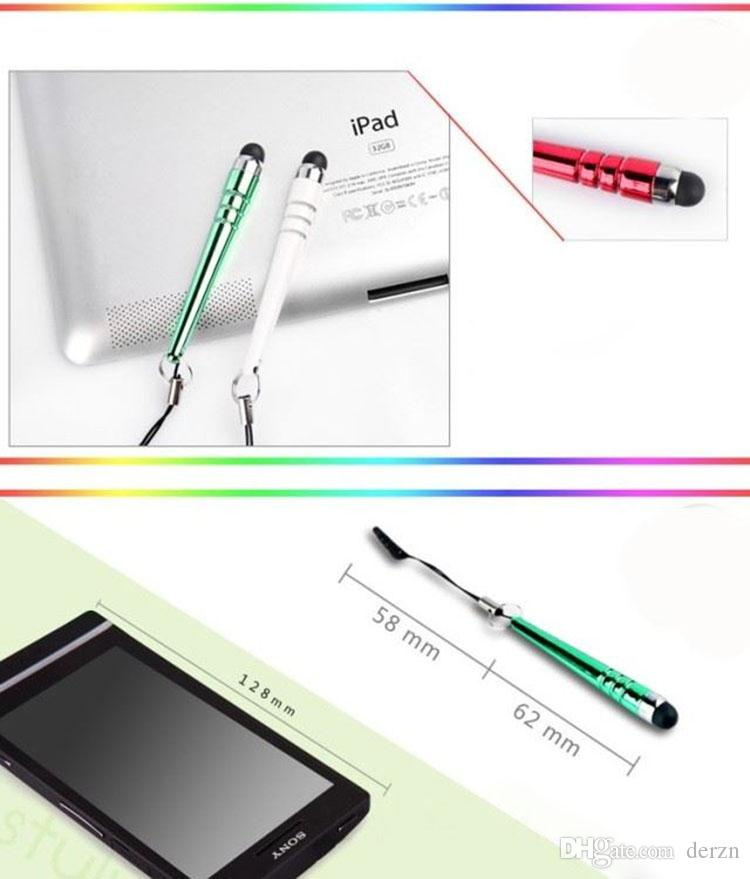 Baseball Capacity Stylus Touch Pen For Iphone 4 5 6 7 8 X Ipad Etc Mobile Phone Touch Pen For Samsung HTC For Kindle