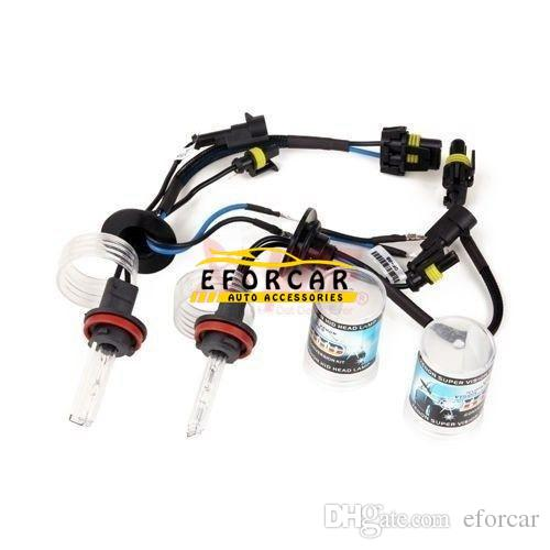 Автомобильные комплекты HID ксеноновая лампа H11 6000 К 35 Вт фары автомобиля головного света замена оптовая цена