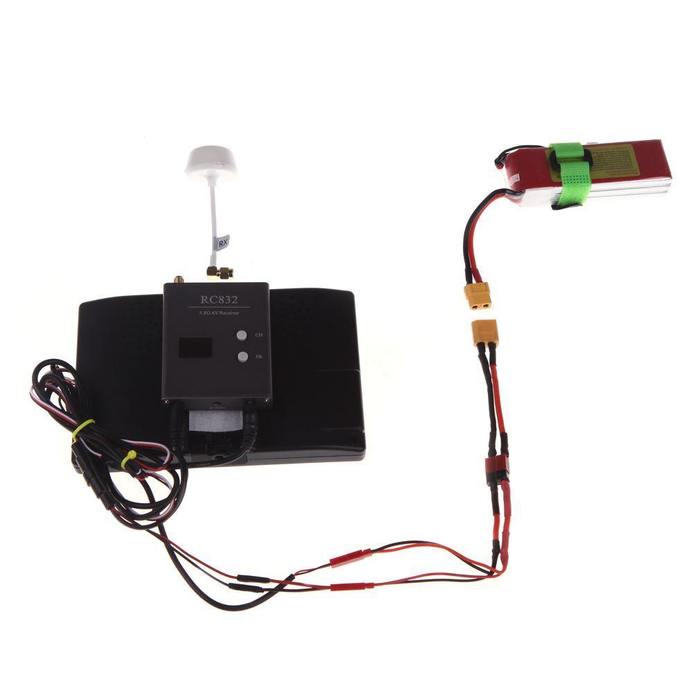 Antena polarizada circular de alta calidad 5.8GHz FPV RP-SMA para RC Quadcopter Multirotor TX / RX FPV