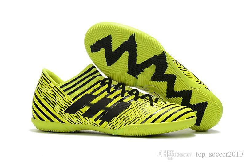 2017 الساخن بيع الرجال لكرة القدم أحذية nemeziz 17 + 360 أجيليتي لكرة القدم أحذية nemeziz تانجو 17.3 ic tf fg المرابط في كرة القدم