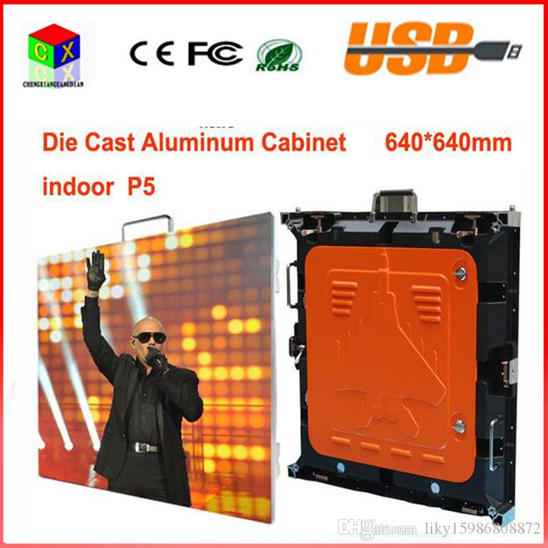 P5 SMD Die Casting Indoor LED Display/LED Video Wall/LED Video Display  Screen in Sale