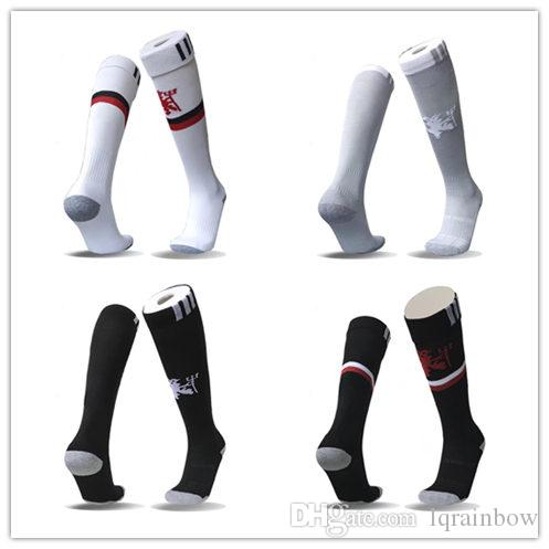 23a7b6b27ce 2017 2018 IBRAHIMOVIC LUKAKU Home Away Third Soccer Socks Wholesale Firmino  Maglie Calcio Adult Football Socks Online with  8.0 Pair on Lqrainbow s  Store ...