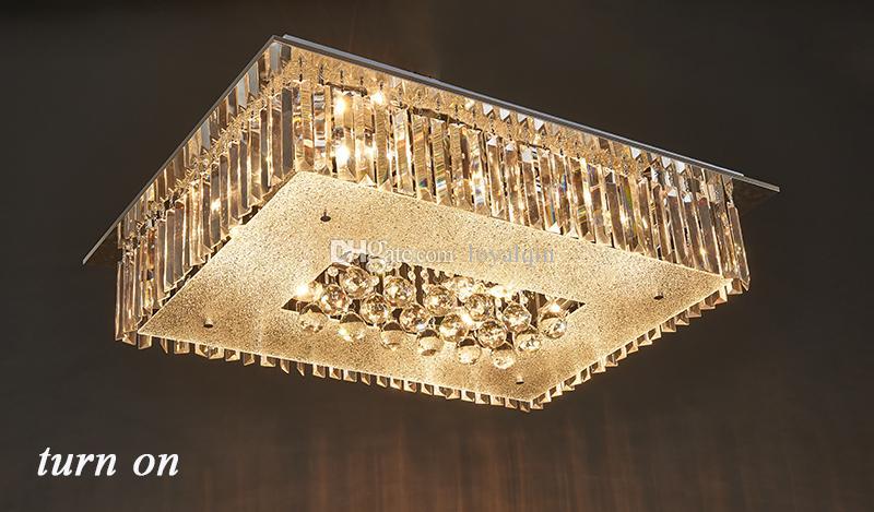 Plafoniera Cristallo Led : Acquista luminosa plafoniera a led in cristallo di lucentezza
