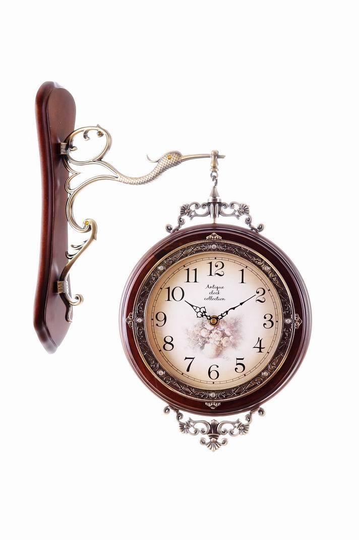double sided large decorative wall clock wholesale wooden wall clock classic wall clocks clock buy online from dhgatecom