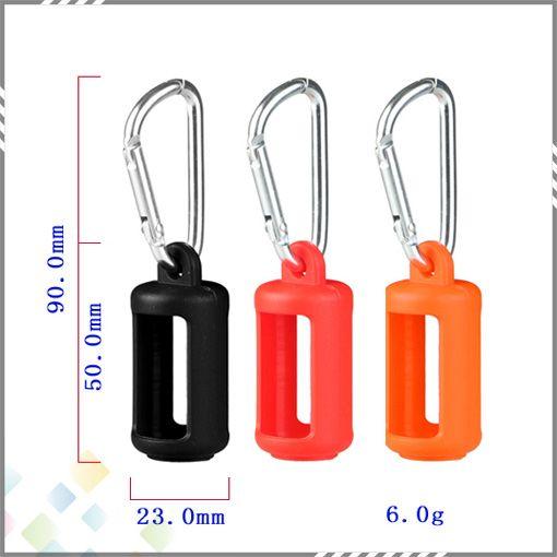 Botella de líquido Suave E Funda de funda de silicona Funda protectora de silicona Colorido Protector de piel de goma suave para botellas de Cig E DHL gratuito