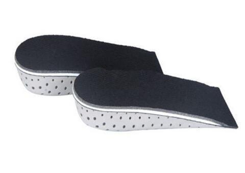New Arrive 1 Pair Pop Unisex Increasing Orthotics Insole Lift Insert Pad Height Cushion Taller Male Footwear Women Shoes