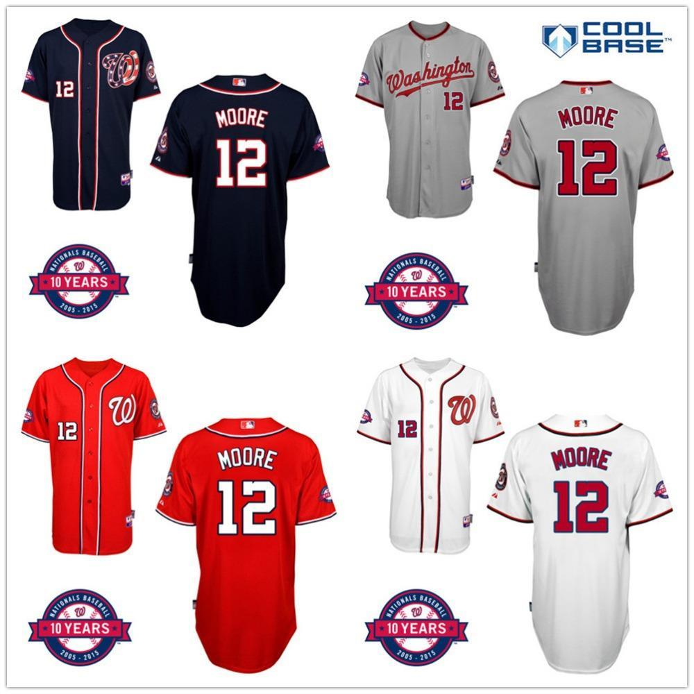 new product 43988 9aea9 nationals 7 trea turner red cool base stitched youth mlb jersey