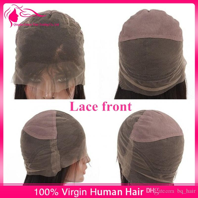Fabulous 8A Body Wave Full Lace & Front Lace Wigs With Baby Hair Virgin Peruvian Human Hair Wavy Wigs Density 130% DHL