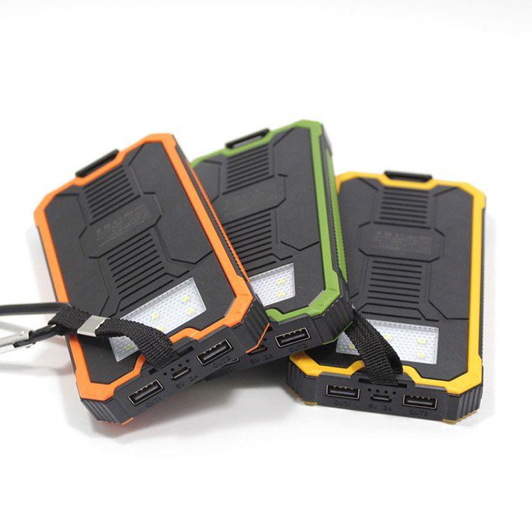 Tollcuudda 20000MAH الشمسية Poverbank لXIAOMI فون LG الهاتف قوة البنك شاحن بطارية محمول موبايل Pover البنك تجدد powerbank