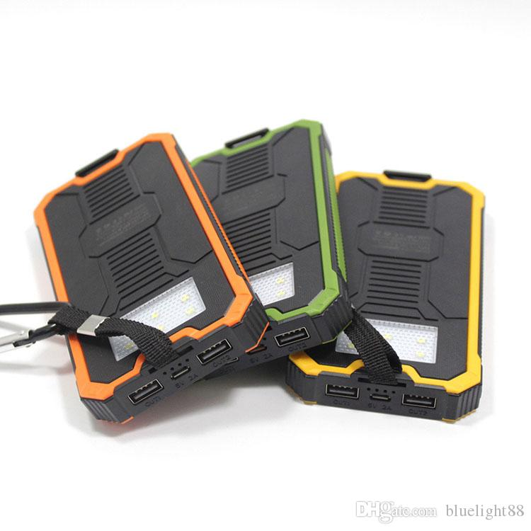 Tollcuudda 20000mAh Solar Poverbank Xiaomi Iphone LG Banca di potere del telefono caricabatteria portatile mobile Pover Bank Powerbank