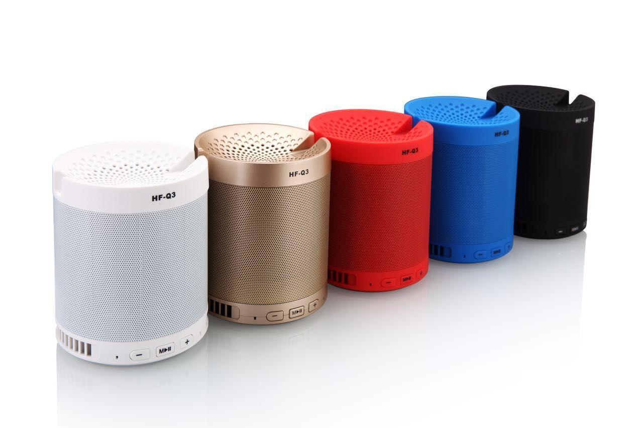--Creative Outdoor Bluetooth Speaker HF-Q3 Wireless Portable Mini Speakerphone Stand Subwoofer Card Speaker