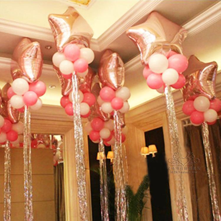 The Balloon Tied Balloons Tassel Wedding Wedding Anniversary Party