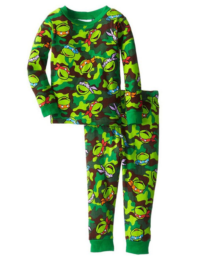 New Arrive Children Pajamas Kids Teenage Mutant Ninja Turtles Long ...
