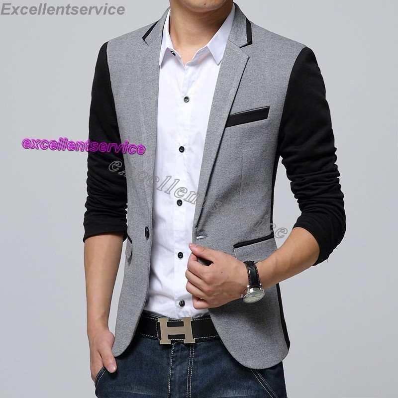 Discount New Style Men Blazer 2015 Suit Men Brand Casual Jacket ...