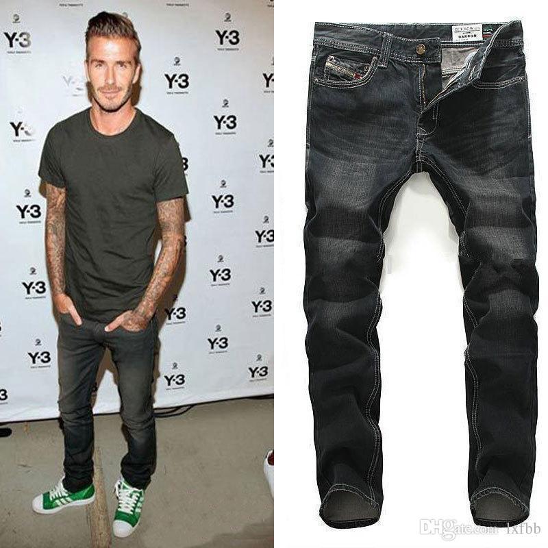 Wholesale Men's Jeans At $47.04, Get Black Ripped Jeans Men 2016 ...