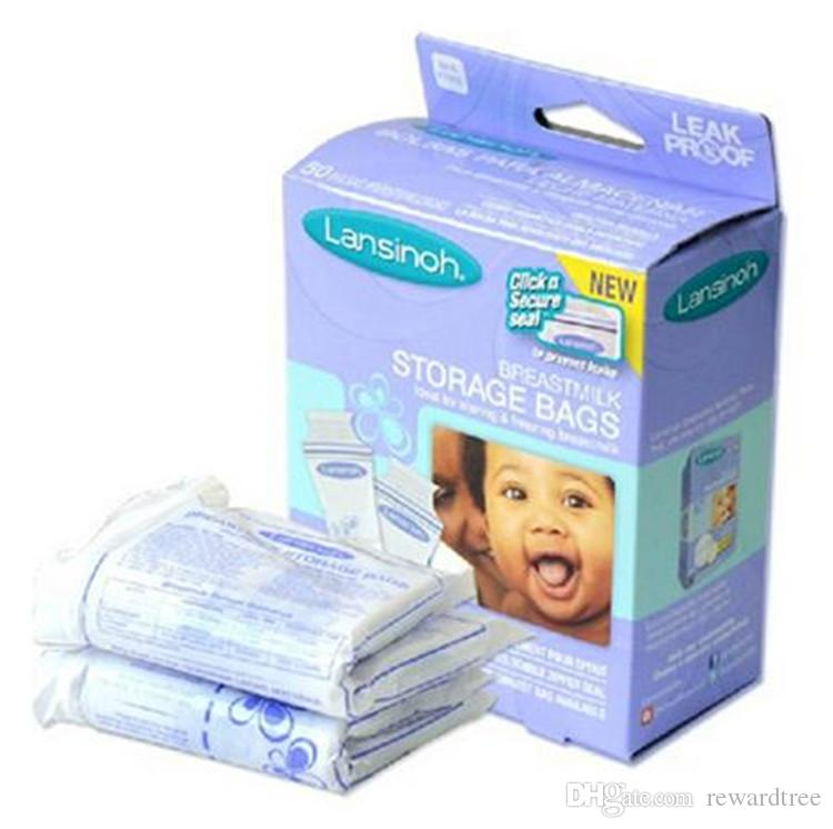DHL High Quality Lansinoh Breastmilk Storage Bags 180ML Disposable