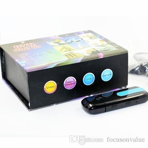 USB DİSK Kamera Mini DVR U8 Hareket Algılama USB Flash Sürücü DVR pinhole Kamera U Disk mini Video Kaydedici kadar destek 32 GB
