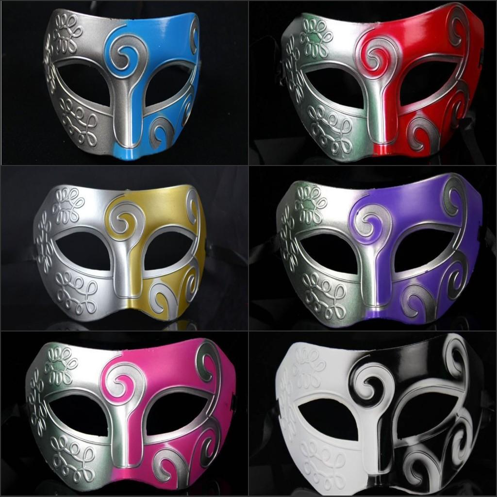 2015 Cosplay Masks Jazz Rome Fighter Masks Masquerade Masks Upper ...