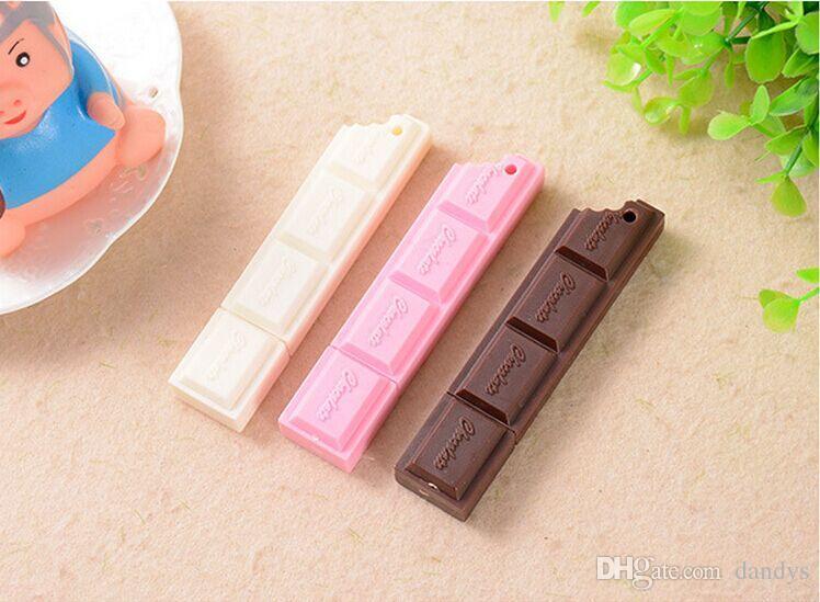 Stylo à bille en chocolat Stylo à bille / cadeau / Chaîne de téléphones portables
