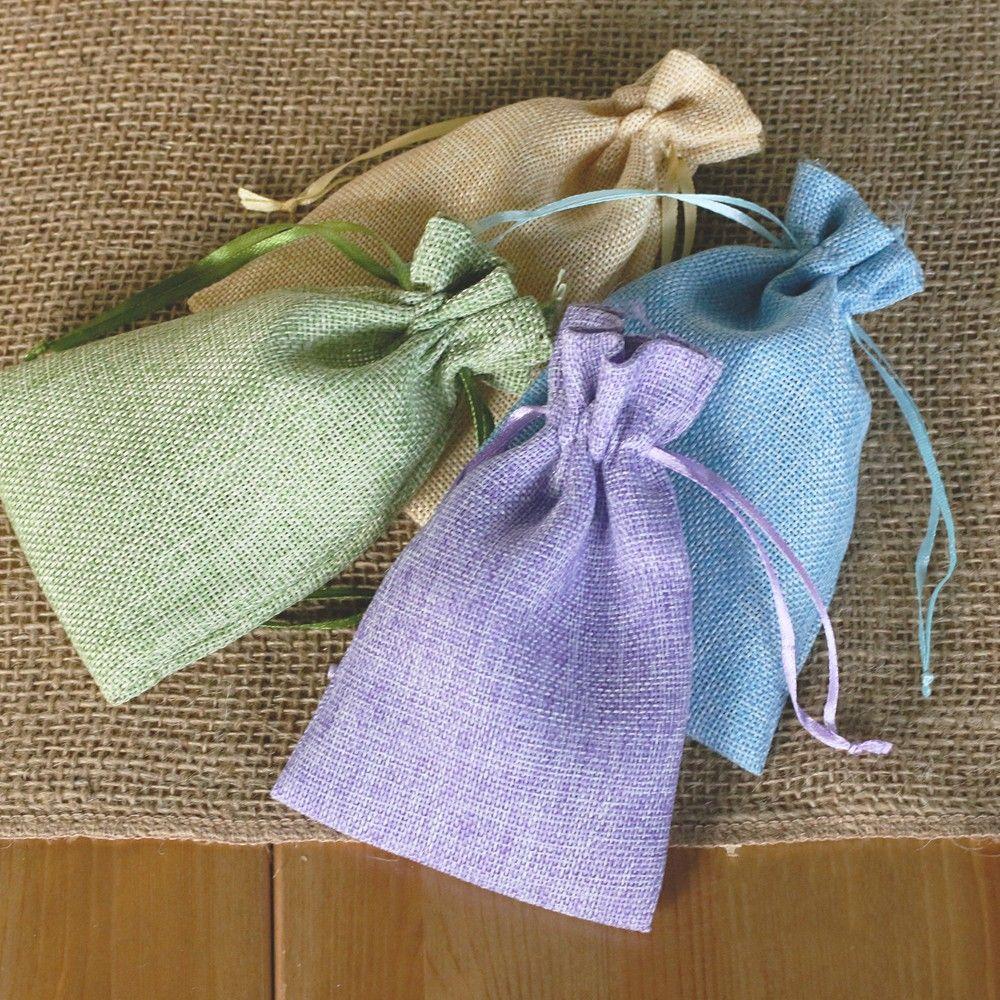 New Design Fashion Imitation Hemp Sack Wedding Candy Bags Box ...