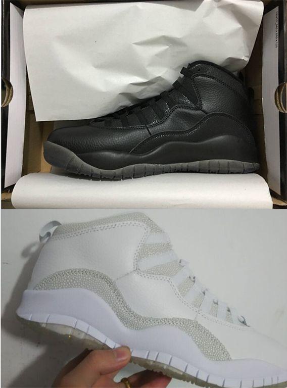 New Color Air Jordan Running Black White Shoes [AJ AJRSN0009