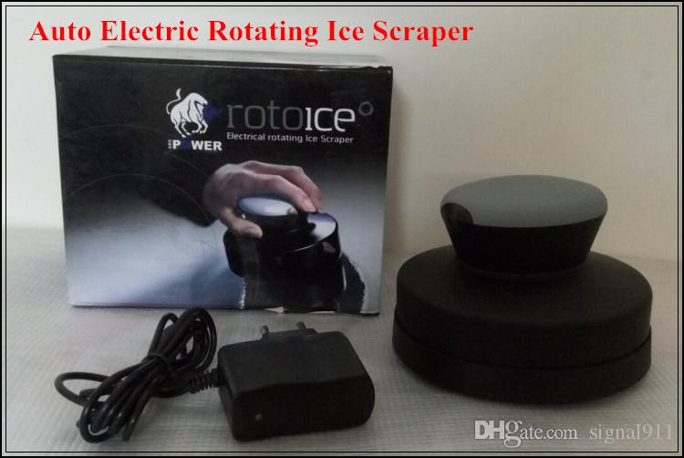 High quality DC12V 60W Motor Auto Electric Rotating Ice Scraper,car Snow Removing Device With Rechangeable Battery charging