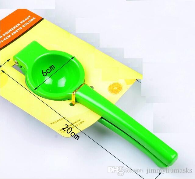 ثلاثة ألوان جديدة دليل اليد الليمون عصارة عصارة البرتقال الحمضيات الصحافة عصير الفاكهة الجير أدوات المطبخ