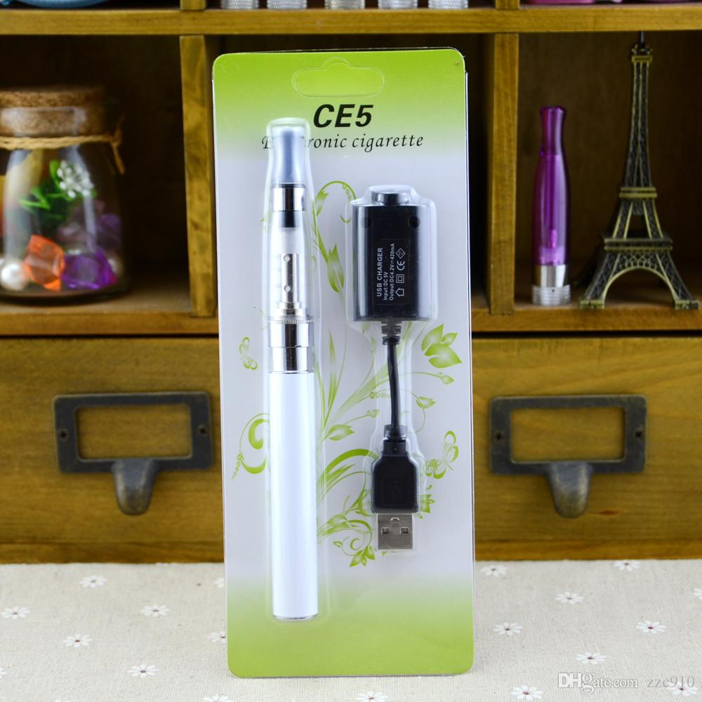 eGo CE5 electronic cigarette starter Blister ego kit with CE5 no wick atomizer clearomizer for e liquid 650 900 1100mAh ego t battery