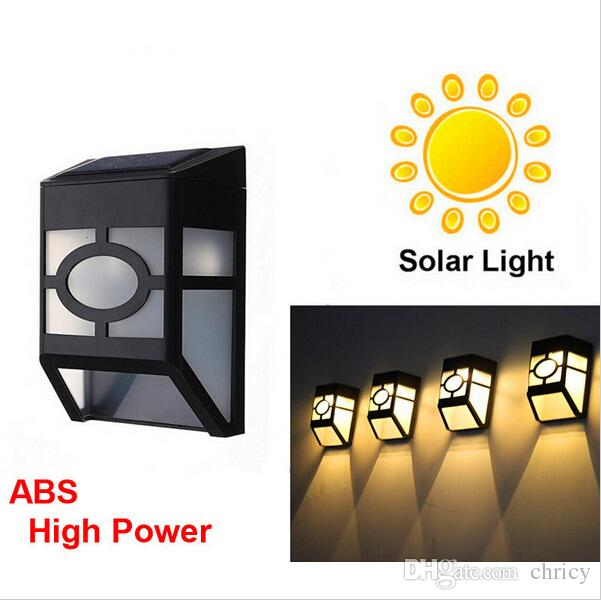 best quality spuper bright waterproof solar wall lamps abs solar led rh dhgate com  what is abs light on a truck