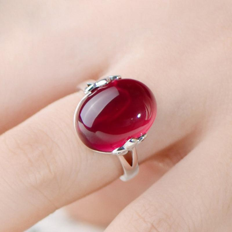 color mojo sterling ring round plated big stone change mj mood antique rings silver beauty shop