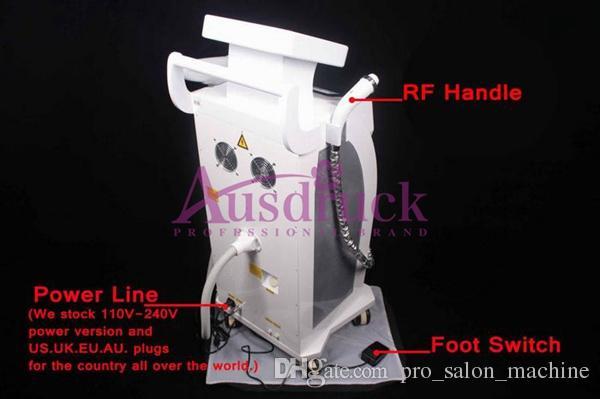 프로 3in1 YAG 레이저 문신 제거 기계 RF 피부 리프트 Elight IPL 제모 피부 젊 어 짐 주름 여드름 제거제 뷰티 살롱 장비