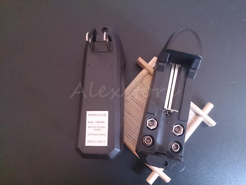 18350 Litium Li Ion Batteri 18650 Li-ion Batteri Extern Smart Laddare EU US Single Universal Laddare 3.7V 500mAh för E CIG ECIG