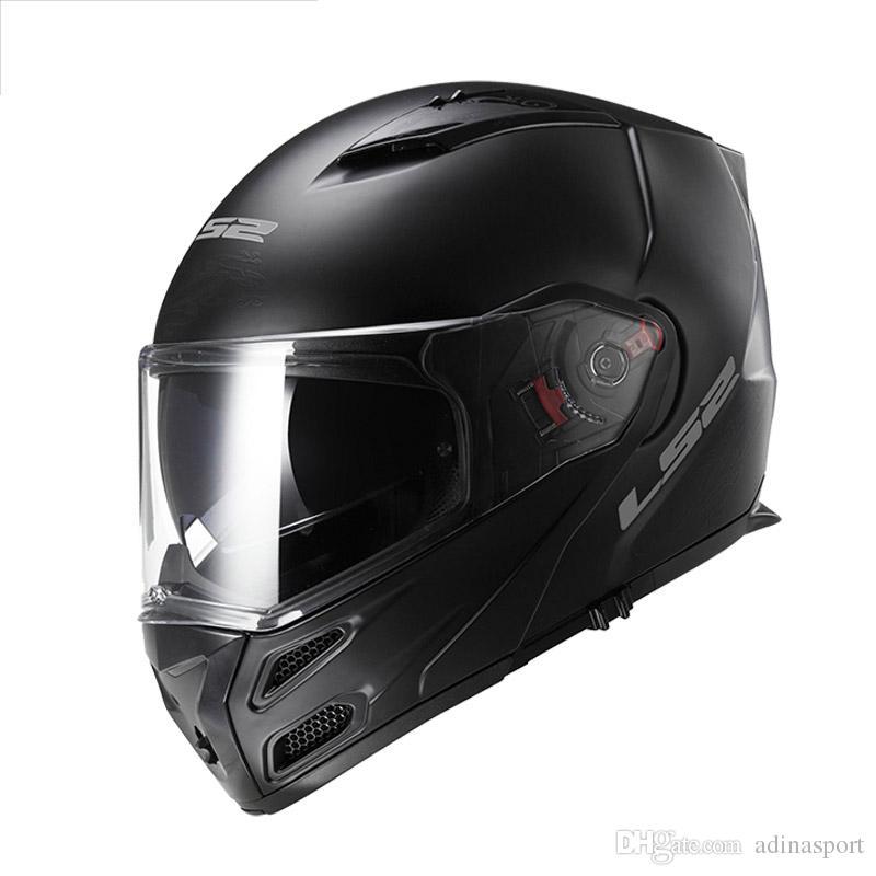 Acheter Nouveau Ls2 Flip Up Moto Casque Ff324 Plein Visage Racing