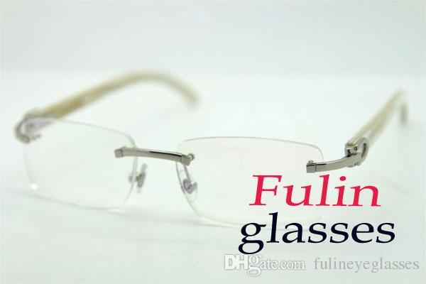 عالية الجودة نظارات القراءة للنساء رجال ملابس مقروءة الحاسوب العين نظارات الأبيض معبد T8100907 نظارات القيادة الحجم: 54-18-140mm