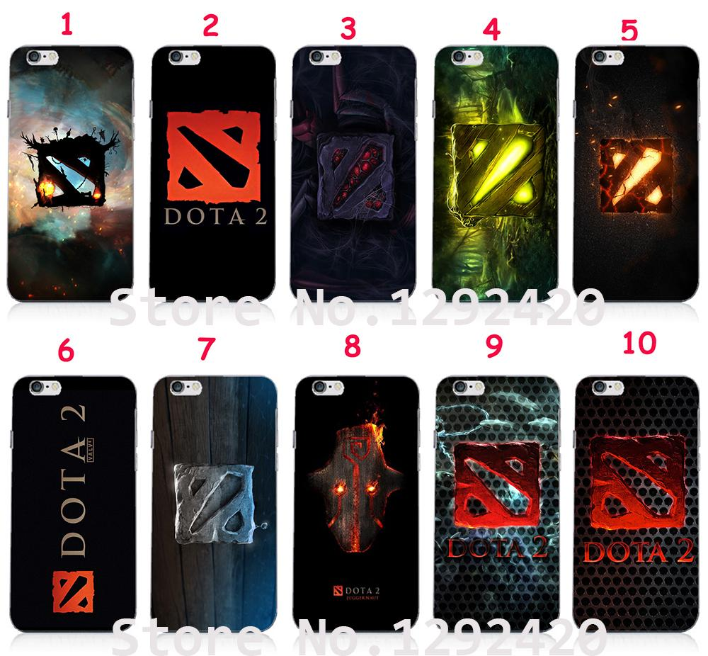 cool dota 2 hard skin white case cover for iphone 6 iphone 6 plus
