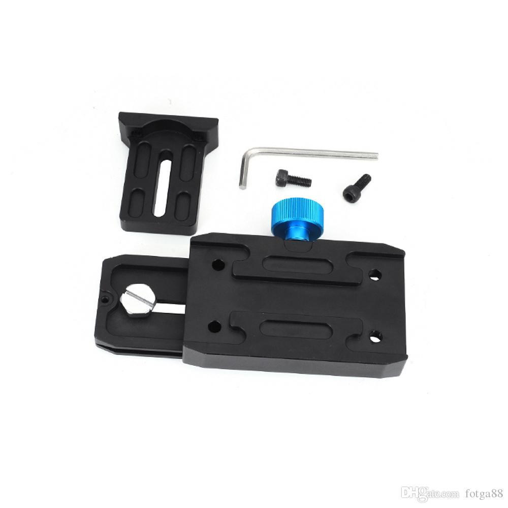DP500II Quick Release Sliding Base Plate For DSLR 15mm Rail Rod Rig Follow Focus