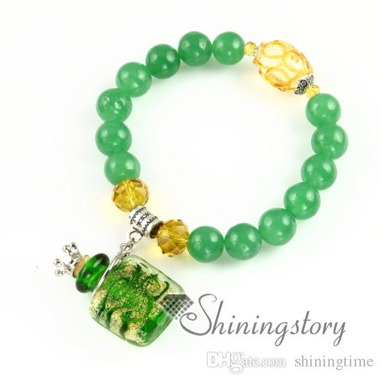 aromatherapy inhaler handmade glass oil diffuser bracelet aromatherapy diffuser jewelry fashion jewelry