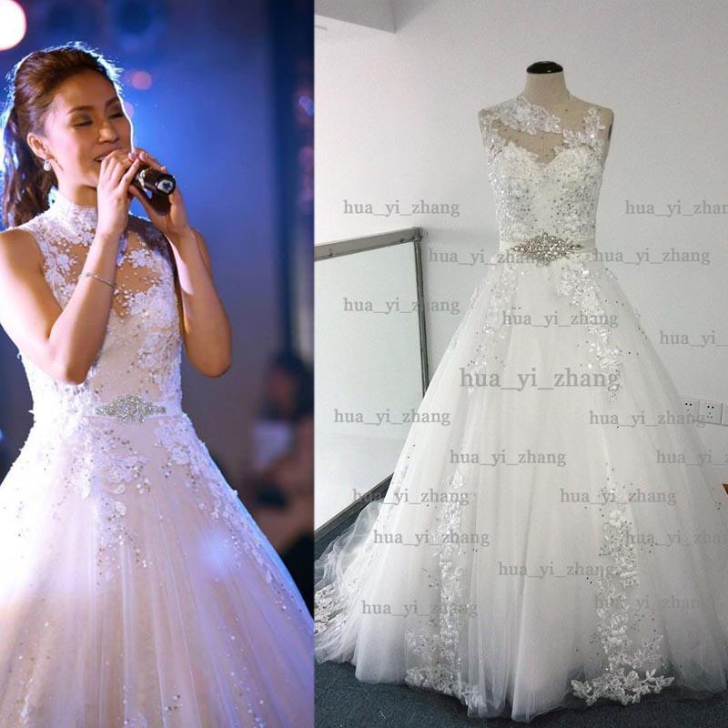 Cheap 28w Plus Size Lace Wedding Dress Discount Simple Purple White
