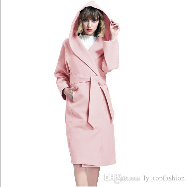 e918510f5 2019 Winter Coat Female 2018 Pink Cotton Jackets Women New Double ...